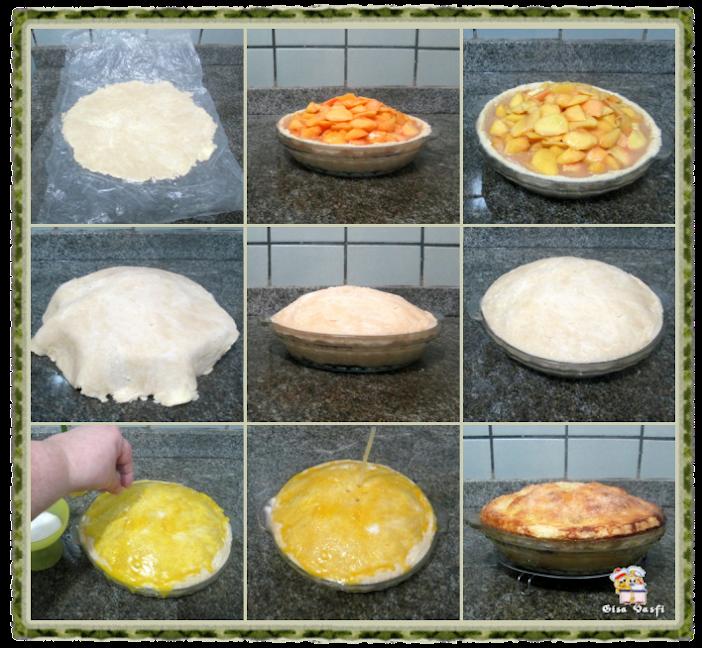 Torta de pêssegos Refém 6
