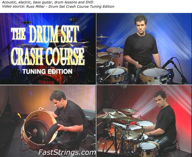 Russ Miller - Drum Set Crash Course Tuning Edition