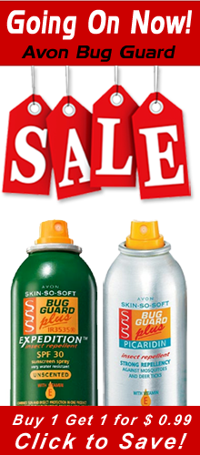 Avon Skin So Soft Bug Guard Sale