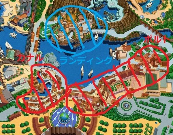 habor map