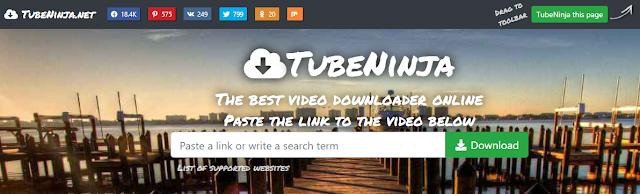 dengan akses situs download tubeninja.net , kalian bisa mengunduh berbagai video