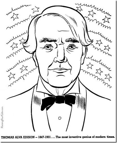 Thomas Alva Edison colorear (3)