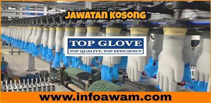 Jawatan Kosong Terkini Di Top Glove Corporation Berhad