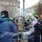 Kedvencek / Egy szétpukkadó szappanbuborék a Szent Patrik-napi felvonuláson – 2017