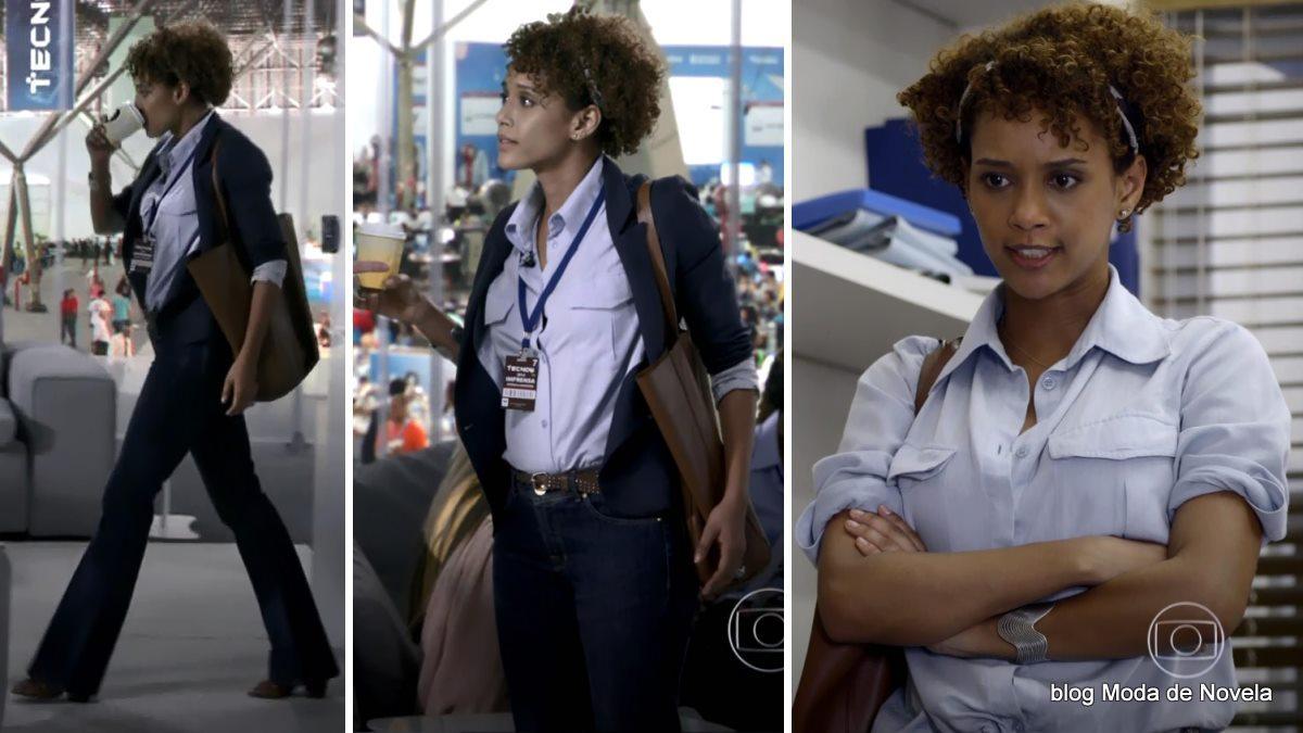 moda da novela G3R4Ç4O BR4S1L - look da Verônica dia 10 de maio