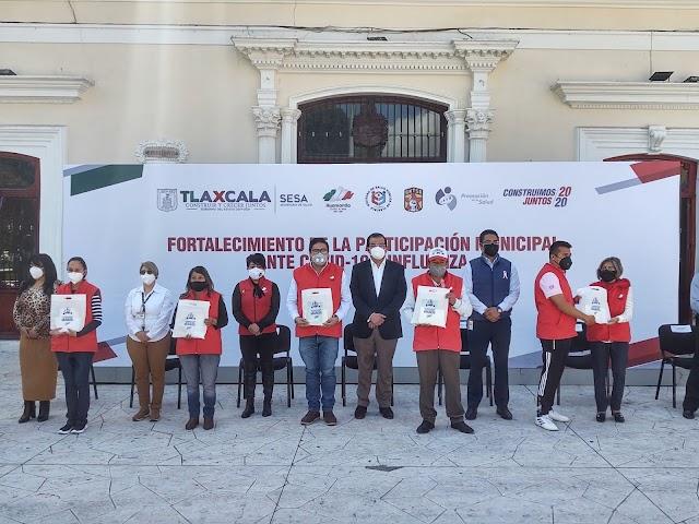 Inician Operaciones Brigadas 'Covid e Influenza' en Huamantla