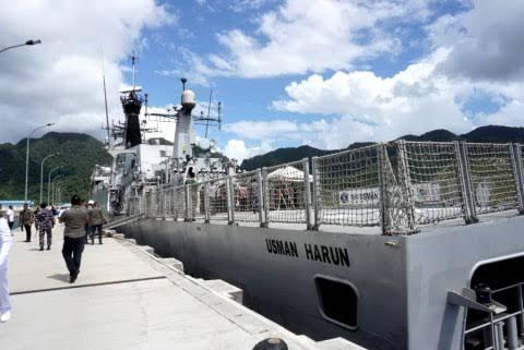 Adu Pepet dengan Kapal China di Natuna, Sehebat Apakah KRI Usman Harun?