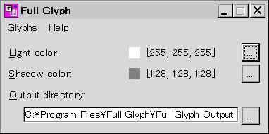 Full Glyph 1.0.0