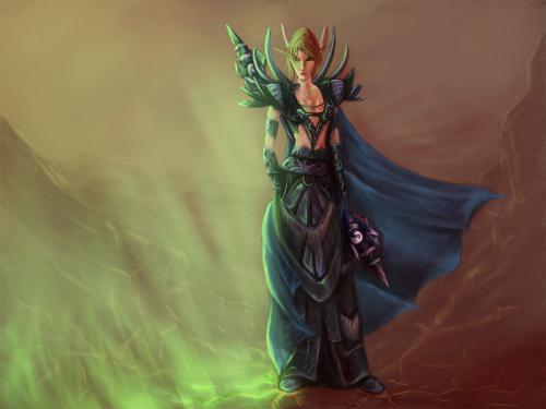 Blood Elf Mage, Elven Girls