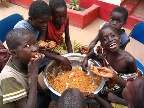Hungry Africans 1000 Reasons to Praise...