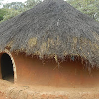 Traditional Botswana house, 500 years ago