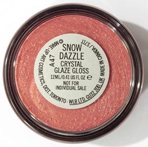 SnowDazzleCrystalGlazeGlossMAC