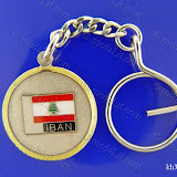 (لبنانيات: علم لبنان (5 Lebanese Icons: Lebanese Flag - LIBAN Size: 35 mm