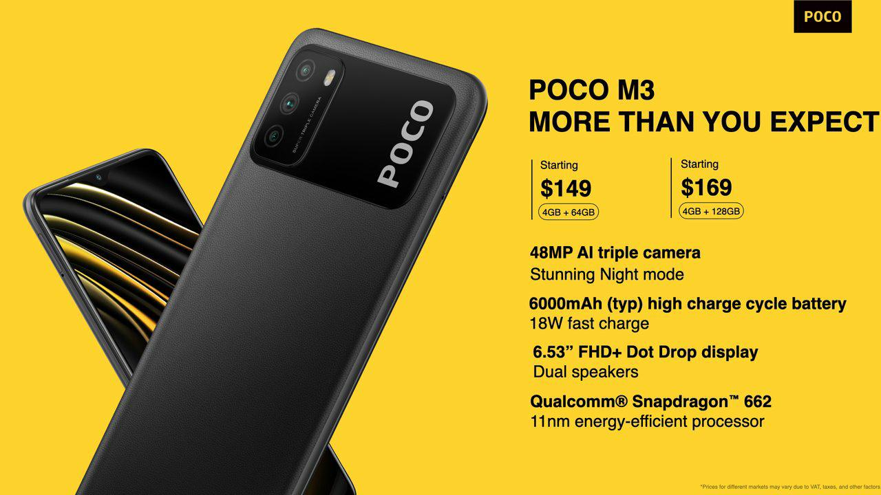 POCO เปิดตัวสุดยอดความบันเทิงใหม่ล่าสุดกับ POCO M3 ให้คุณได้มากกว่า