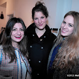 WWW.ENTSIMAGES.COM -  Sara-Ella Ozbek, Addy Lawson and Sophie Wilson     at      FrockDrop.com pop-up launch party  at 68 Sclater Street, London  March 11th 2013                                                  Photo Mobis Photos/OIC 0203 174 1069