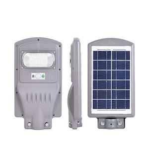 Lampa stradala 30W cu panou solar, acumulator
