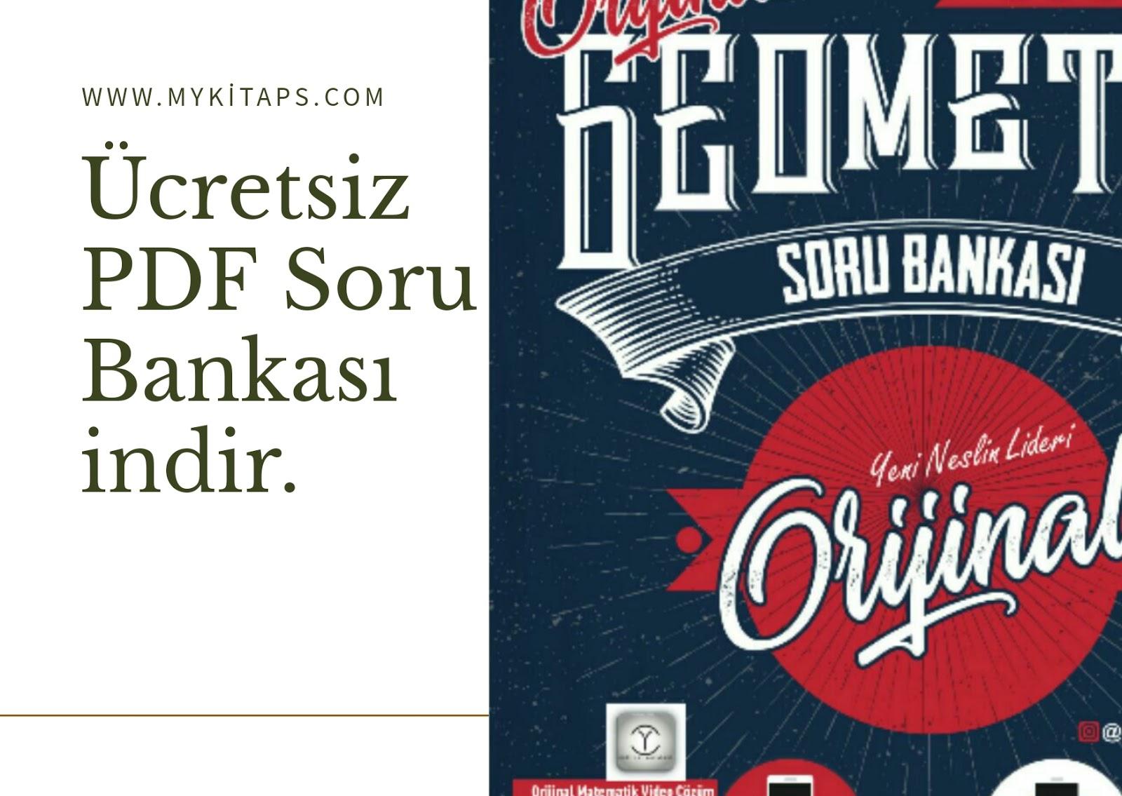Orijinal Yayınları TYT-AYT Geometri Soru Bankası 2019.zip