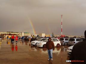 Paqpaqli 2012 - mix of rain and sun = rainbow