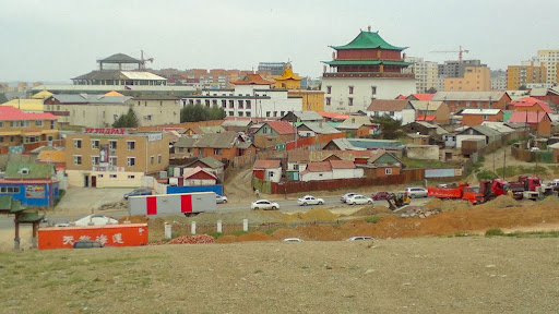 Ulaanbaatar, capitol and largest city in Mongolia with a population of 1.3 million, August 2013. Photo by Ven. Paloma.