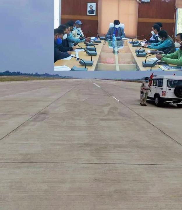देवघर: एयरपोर्ट निर्माण अंतिम चरणों में, डीसी ने बिंदुवार की समीक्षा, कहा- जल्द निपटाए सारे काम, कोई ना करे बहानेबाजी