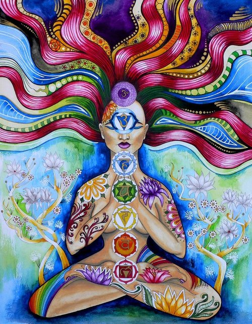 Meditation And Chakras Power, Yoga And Meditation