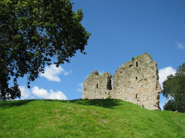 Thirlwall castle ruins