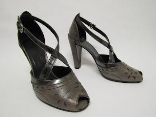 Jil Sander Peep Toe Shoes