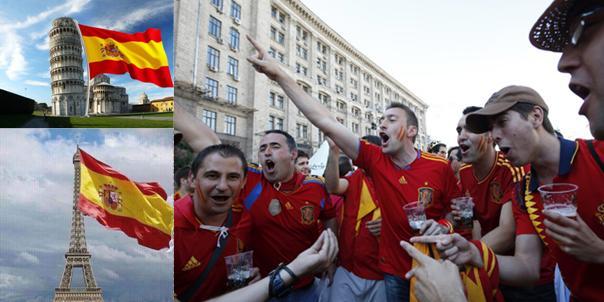 Orgulloso de ser español... a ratos, oiga, a ratos