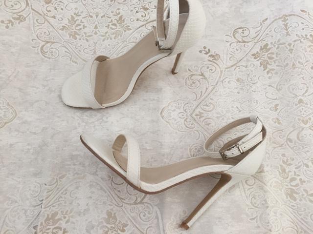 white-sandals