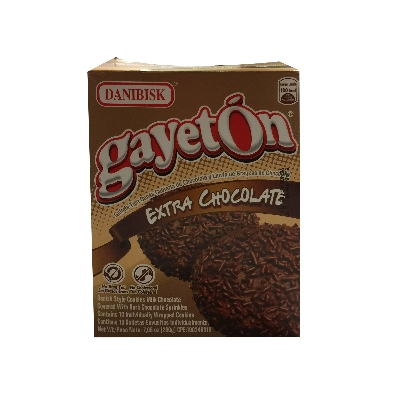galletas danibisk gayeton extra chocolate 200gr