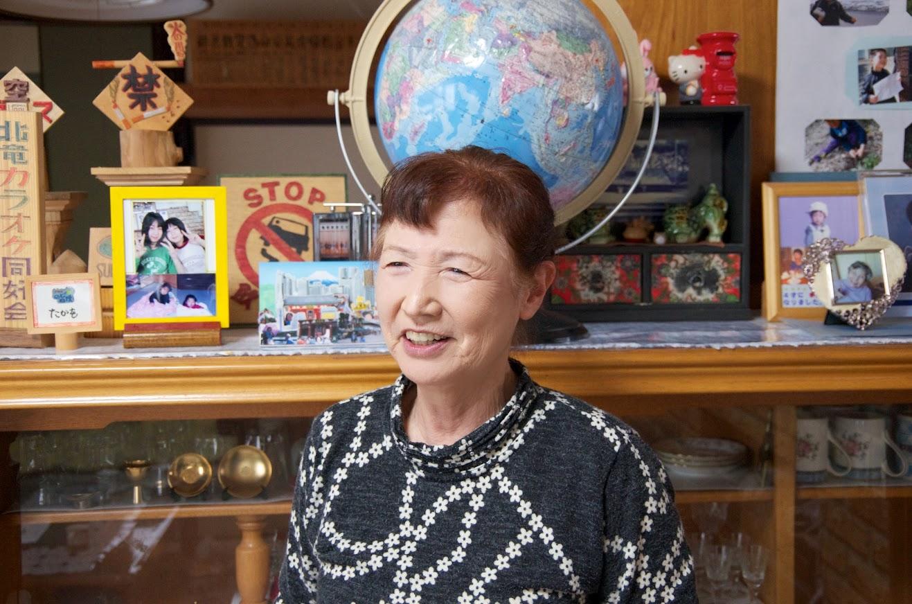 山田智恵子さん