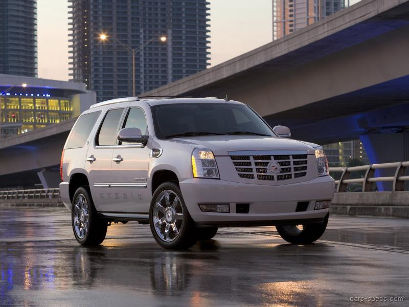 2009 cadillac escalade hybrid suv specifications pictures prices. Black Bedroom Furniture Sets. Home Design Ideas