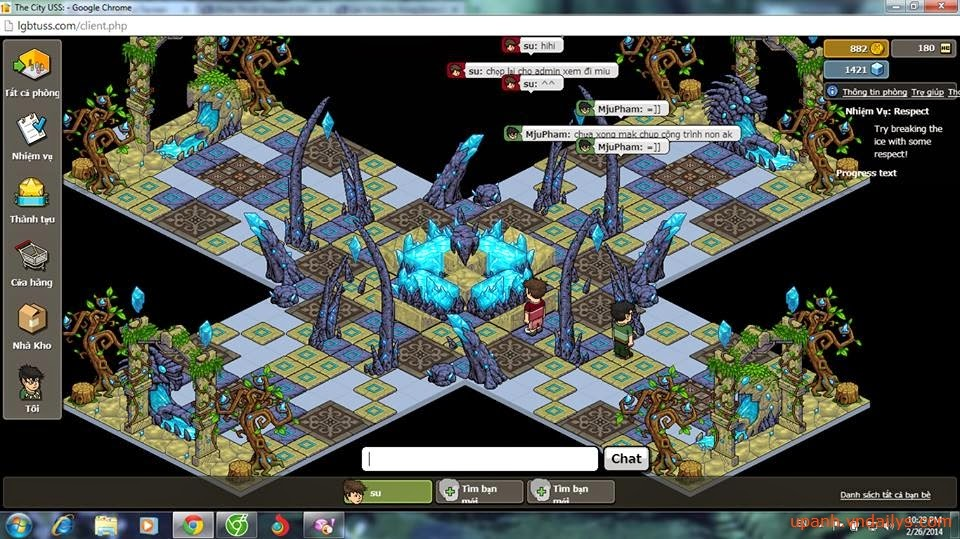Webgame mạng xã hội City USS nổi tiếng đã có mặt tại Việt Nam