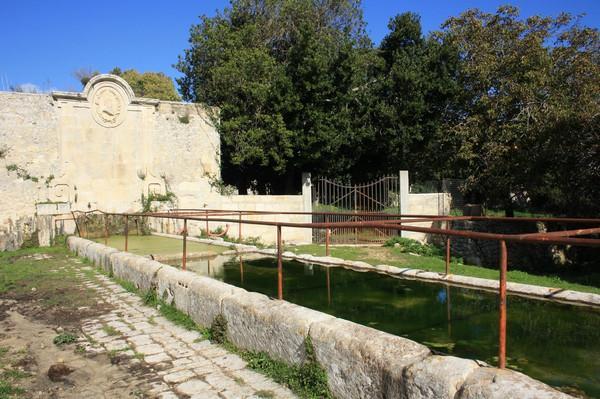 ingresso al Bosco di Baulì