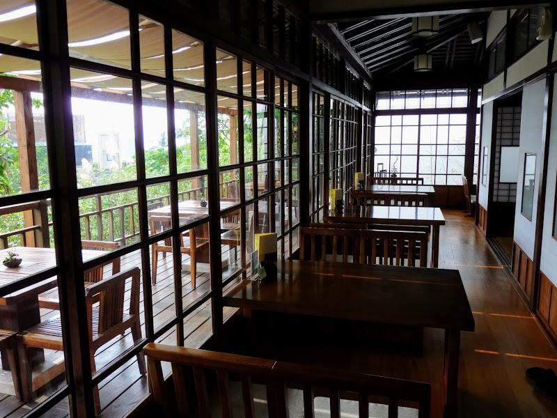 TAIWAN.Taipei .Maison japonaise vers Beitou et Musée National de Taipei à côté du Peace park - P1060319.JPG