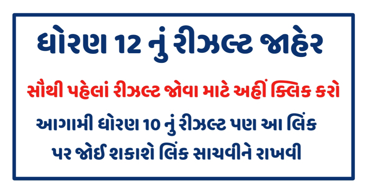 GSEB HSC Science Result 2020, Gujarat Board 12th Results, gseb.org