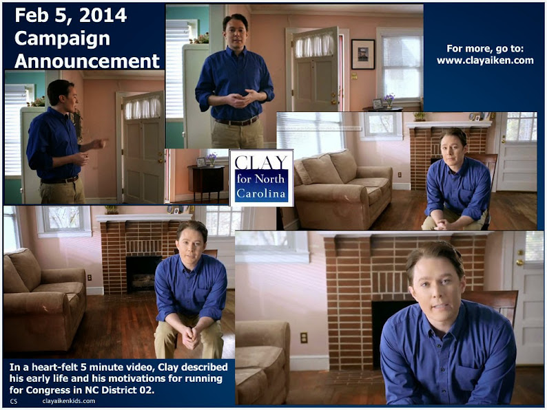 Campaign Announcement for Clay