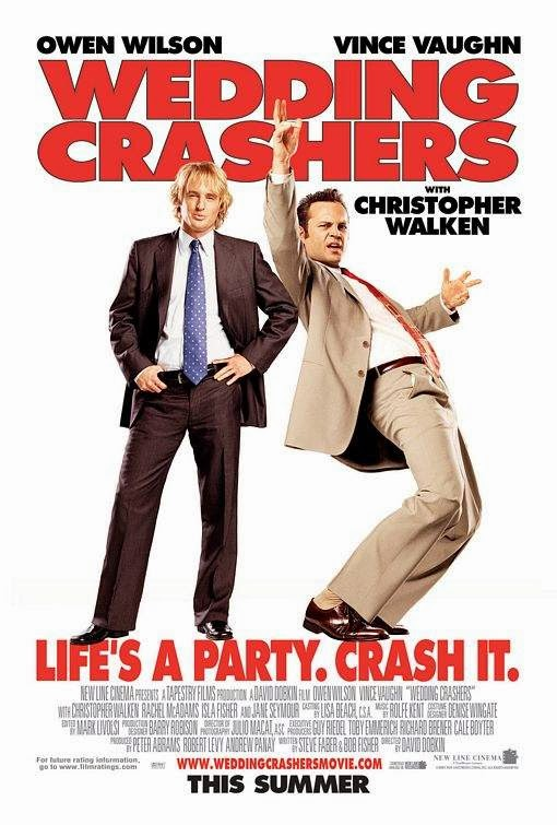 Poster Of Wedding Crashers (2005) Full Movie Hindi Dubbed Free Download Watch Online At Alldownloads4u.Com