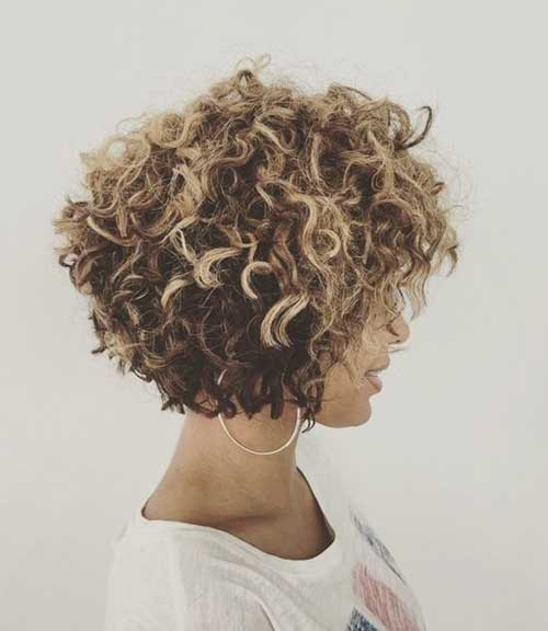 Latest Ideas For Short Curly Hair 2018 Curly Haircuts Styles Eve