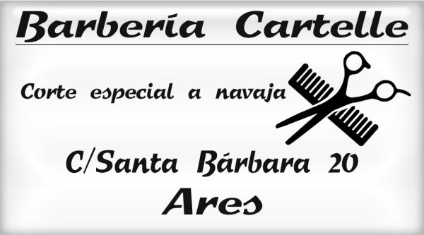 Barbería Cartelle, colaborador coa A.D.R. Numancia de Ares.