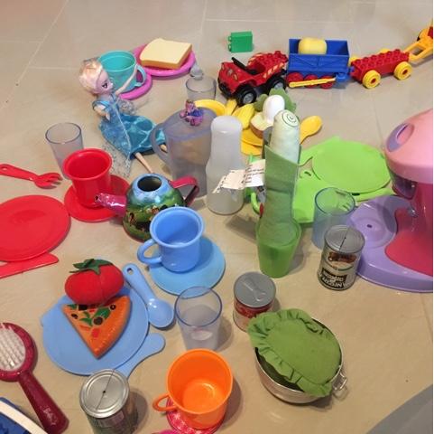 Picknick im Kinderzimmer