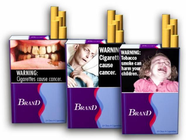 Imágenes en cajas de cigarros