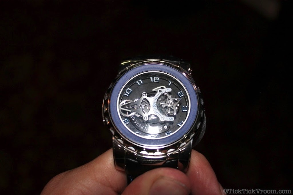Ulysse Nardin Freak Phantom Blue White Gold 8607