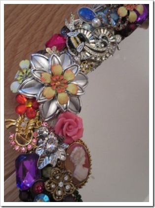 jewelled embellished mirror 1