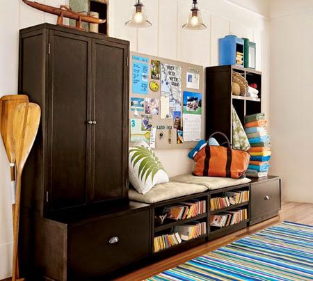 Thi công nội thất gỗ : Tận dụng không gian nhỏ với nội thất siêu gọn-3