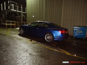 Lovely Sepang Blue Audi RS5
