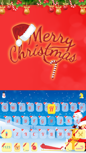 Merry Christmas Keyboard Color