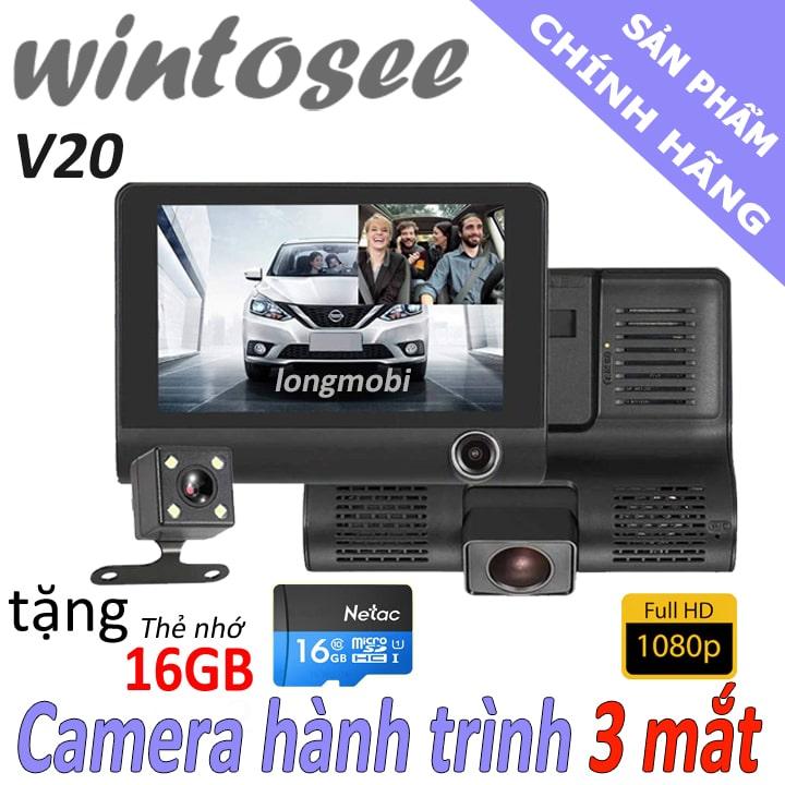 camera hanh trinh 3 mat wintosee v20