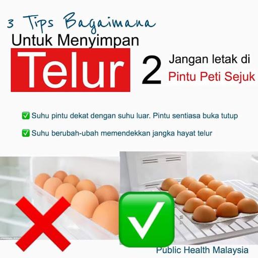 3 Cara Yang BETUL Simpan Telur