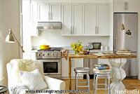 Những thiết kế thông minh cho nhà bếp nhỏ hẹp - Thi công trang trí nội thất